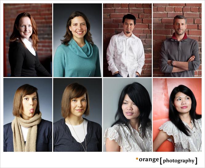 Orange Photography portraits