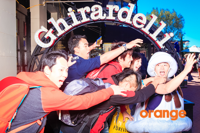 ghirardelli booth