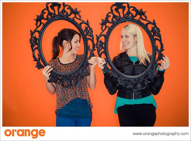 photo booth Orange HappyHour