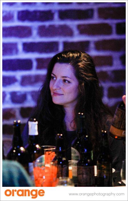 Inna Volynskaya of Headlands Brewing enjoys her birthday during San Francisco Beer Week