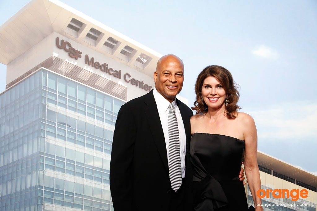 Karen and Ronnie Lott - UCSF Champions Gala photography by orange photography