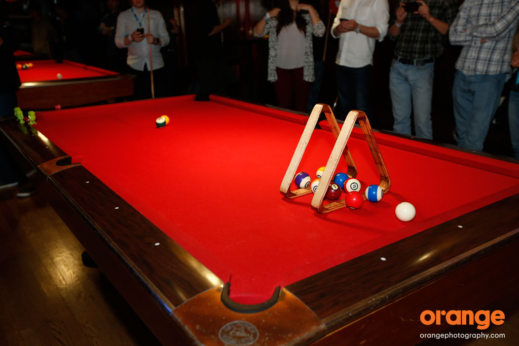 event entertainment ideas - pool shark
