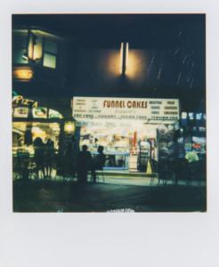 Night photo using manual exposure